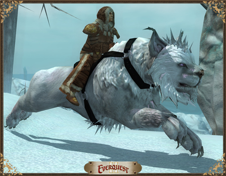 Shadow-Saddled Highland Snowmane