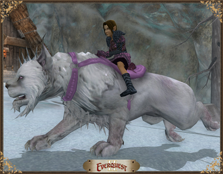 Rose-Saddled Highland Snowmane
