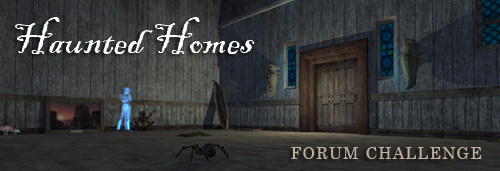 Haunted Homes Decorating Contest Banner