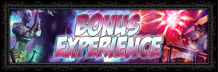 Bonus XP Weekend Banner