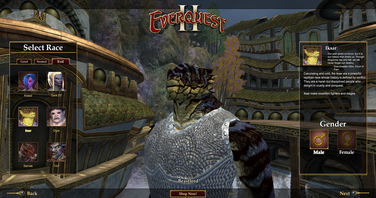 Races of EverQuest II FAQ  EQ2 Forum Archive @ EQ2Wire