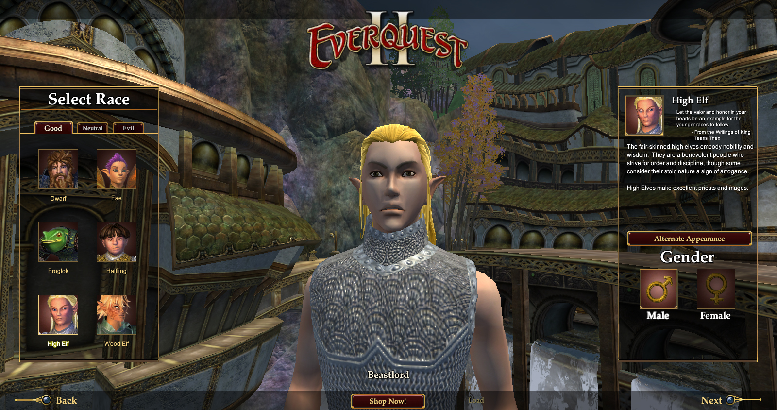 Races of EverQuest II FAQ | EverQuest 2 Forums