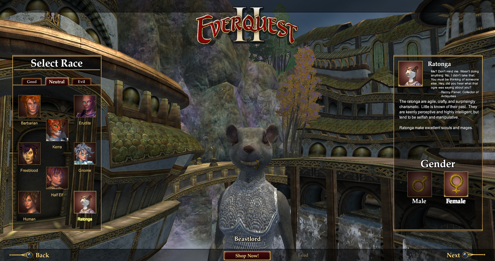 Races of EverQuest II FAQ  EverQuest 2 Forums