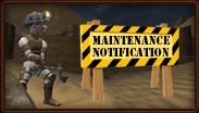 Server Downtime Notification